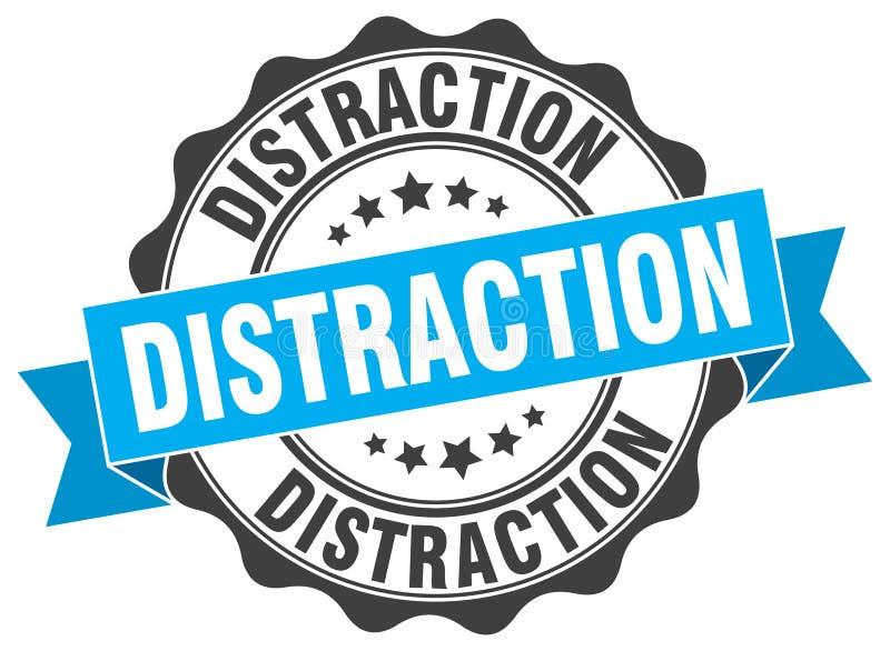 selo da distração selo ilustração do vetor