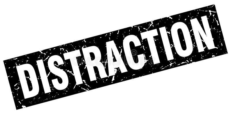 Selo da distração ilustração stock