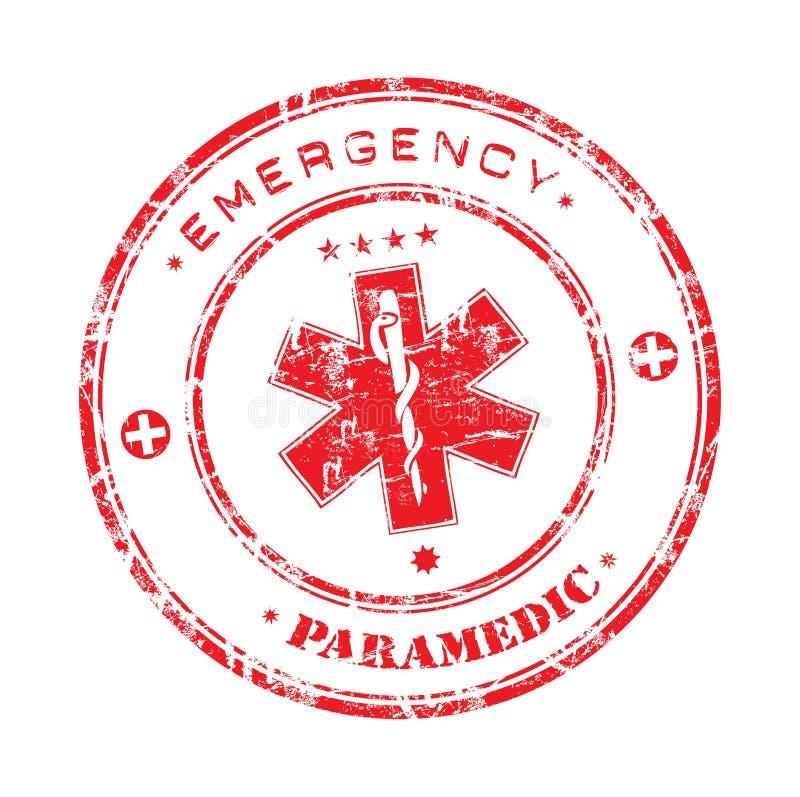 Selo da emergência ilustração do vetor
