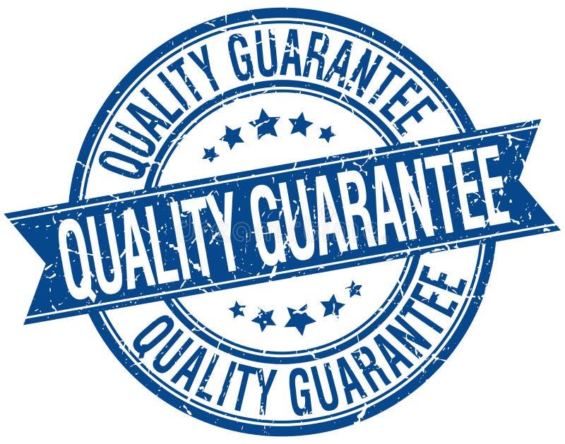 Selo da garantia de qualidade ilustração royalty free