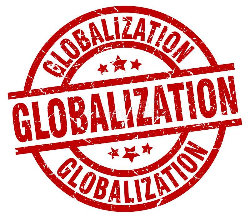 Selo da globalização ilustração do vetor