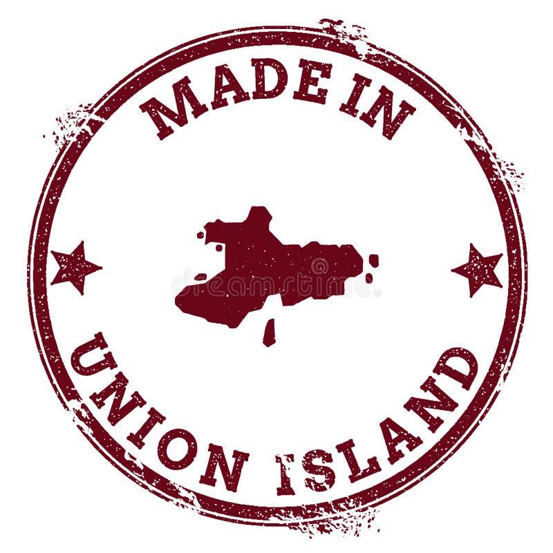 Selo da ilha da união ilustração royalty free