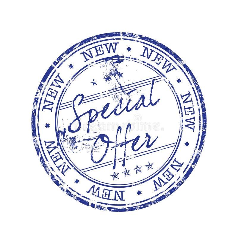 Selo da oferta especial ilustração stock