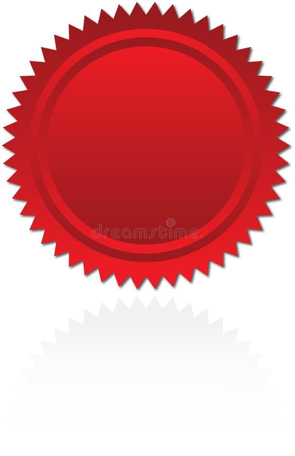 Selo de aprovaçã0 ilustração stock