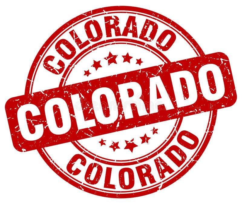Selo de Colorado ilustração royalty free
