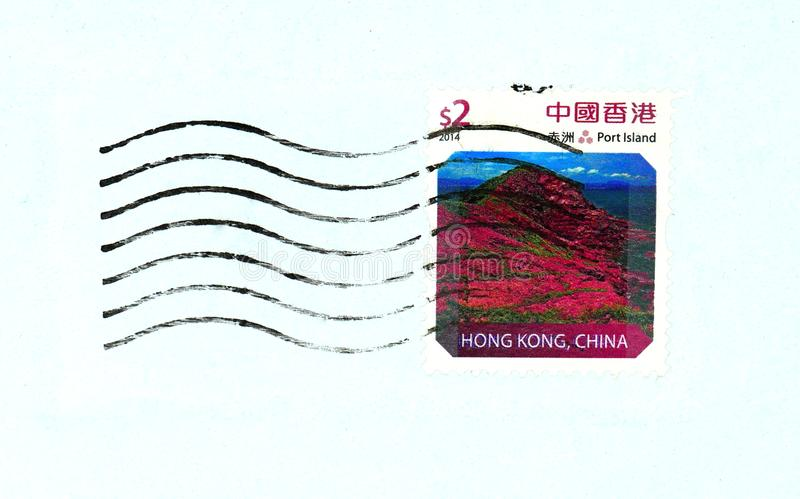 Selo de Hong Kong fotos de stock royalty free