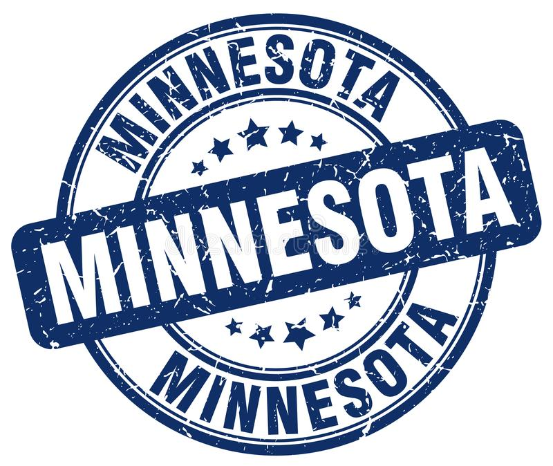Selo de Minnesota ilustração do vetor