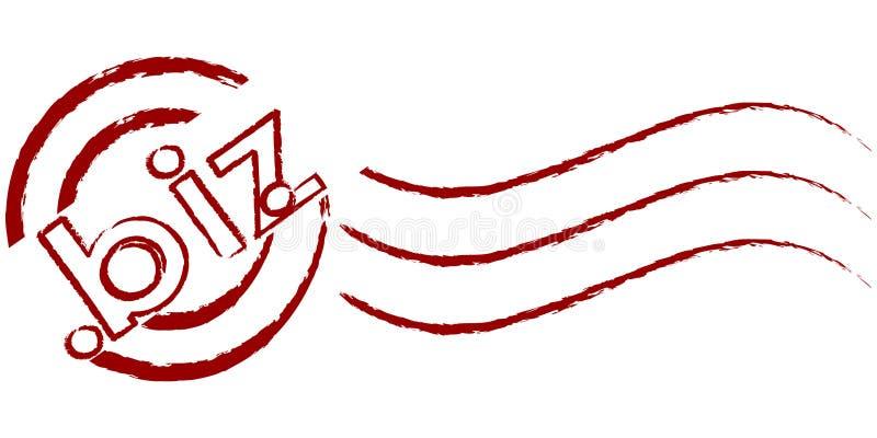 Selo de negócios ilustração stock