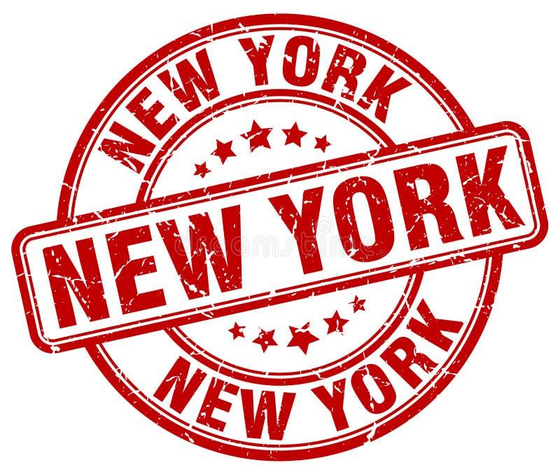 Selo de New York ilustração stock