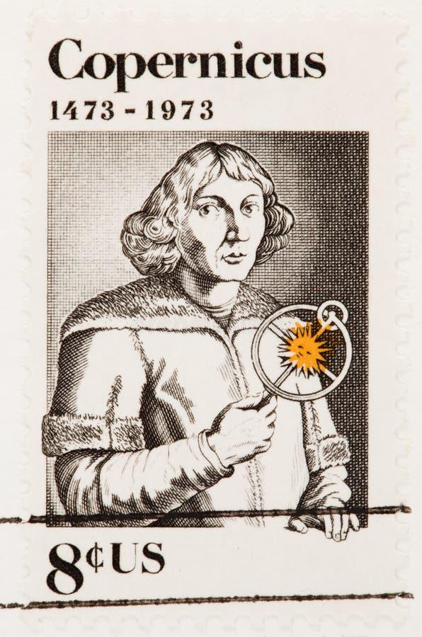 Selo de Nicolaus Copernicus foto de stock