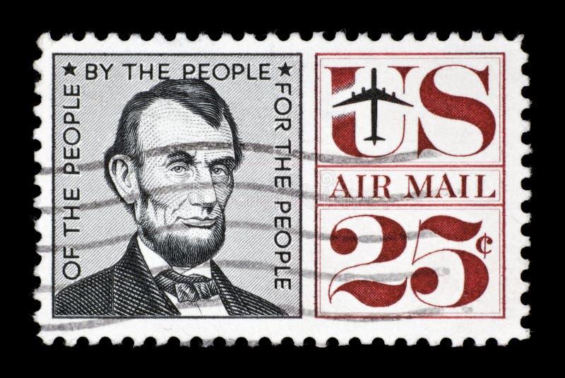 Selo de porte postal dos E.U. fotos de stock royalty free