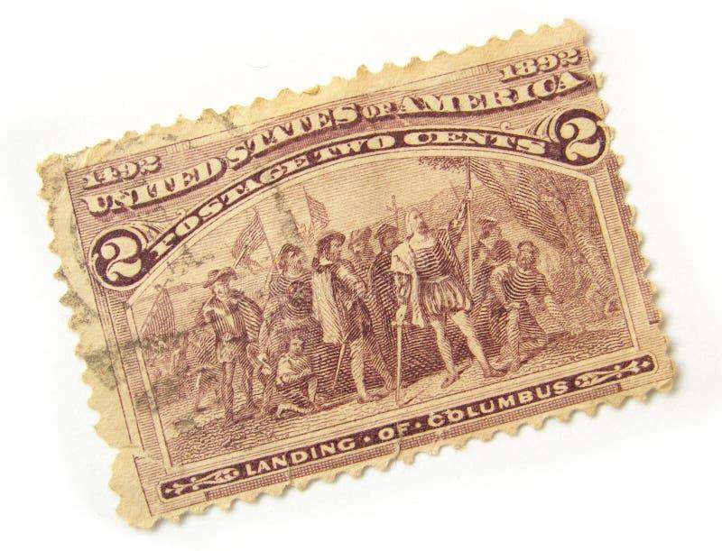 Selo de porte postal dos E.U. fotos de stock