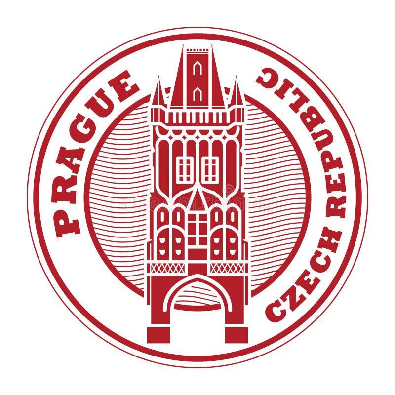 Selo de Praga, República Checa ilustração stock