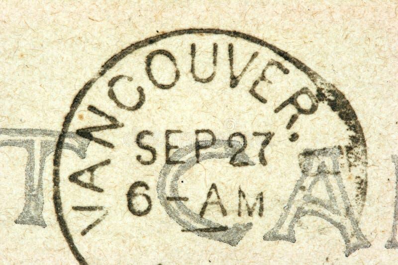 Selo de Vancôver fotografia de stock