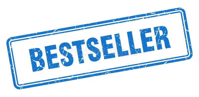 Selo do bestseller ilustração stock