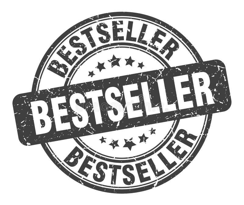 Selo do bestseller ilustração do vetor