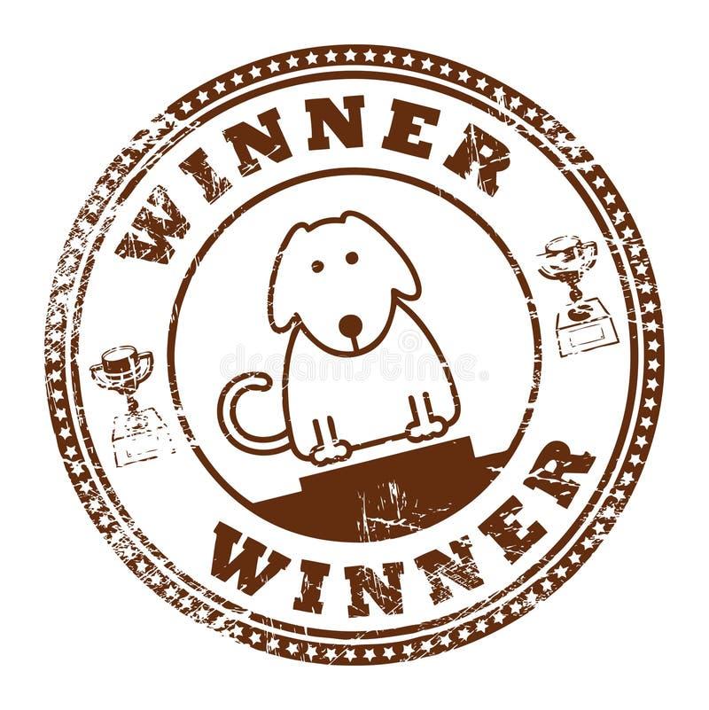 Selo do cão ilustração royalty free