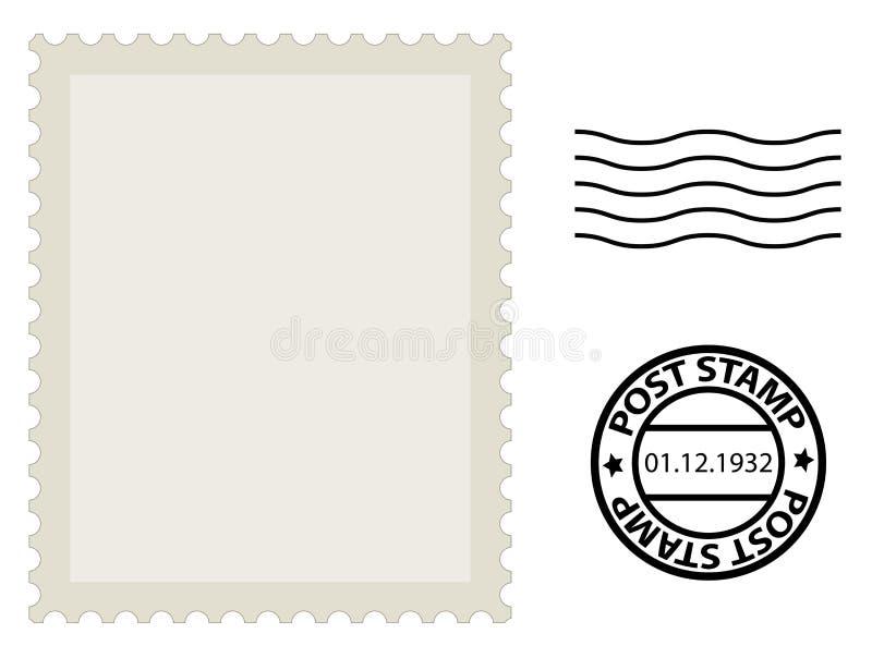 Selo do cargo ilustração do vetor