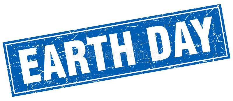 Selo do Dia da Terra ilustração stock