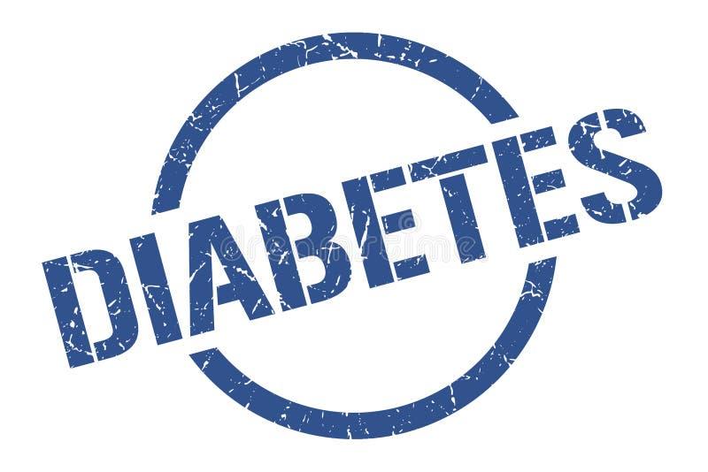 Selo do diabetes ilustração stock