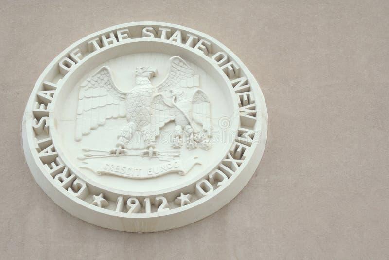 Selo do estado de New mexico fotografia de stock royalty free
