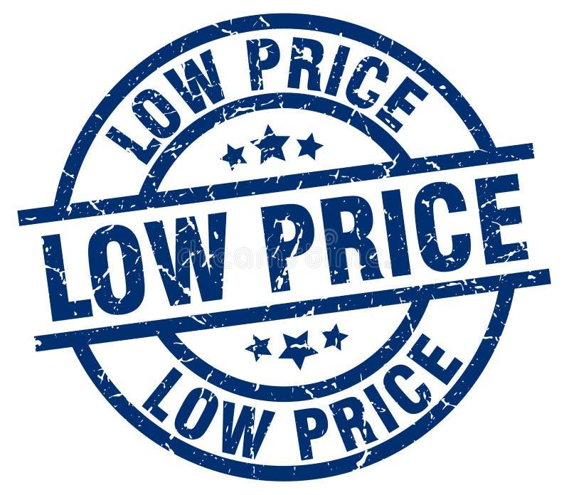 Selo do preço baixo ilustração stock