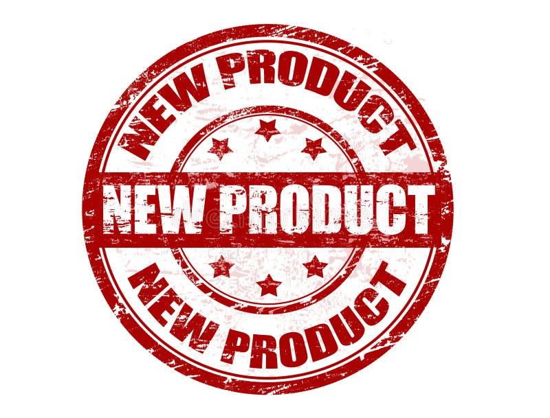 Selo do produto novo ilustração royalty free
