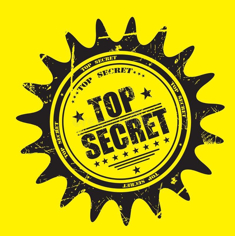Selo do segredo máximo ilustração do vetor