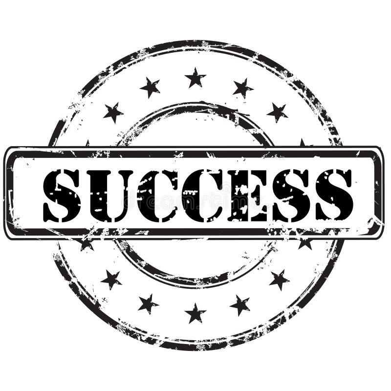 Selo do sucesso ilustração royalty free