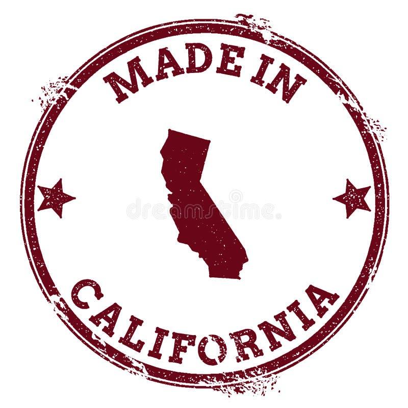 Selo do vetor de Califórnia ilustração do vetor