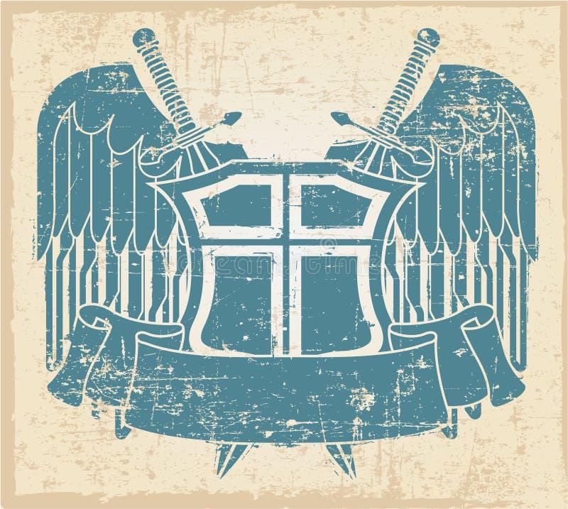 Selo do vintage ilustração do vetor