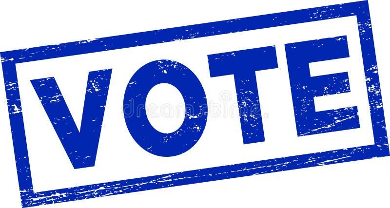 Selo do voto ilustração stock