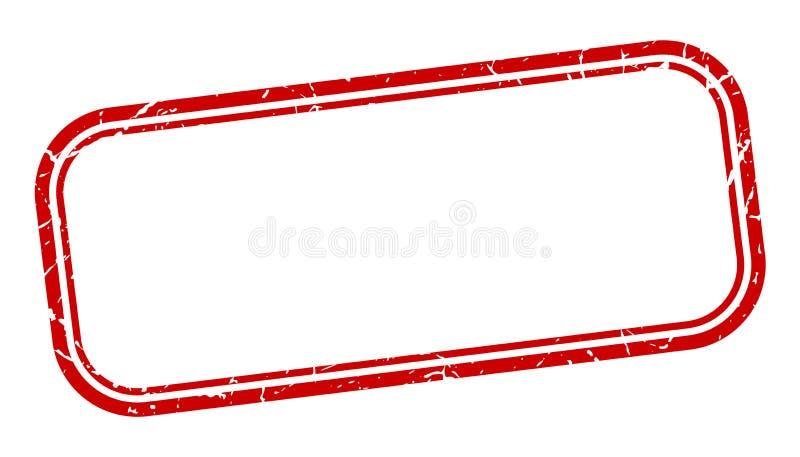 Selo em branco ilustração royalty free