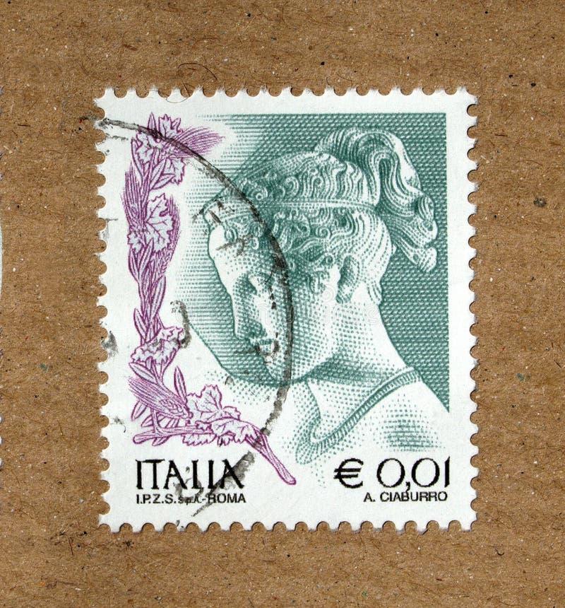 Selo italiano fotografia de stock royalty free