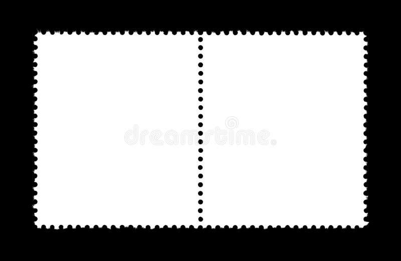Selo liso ilustração stock