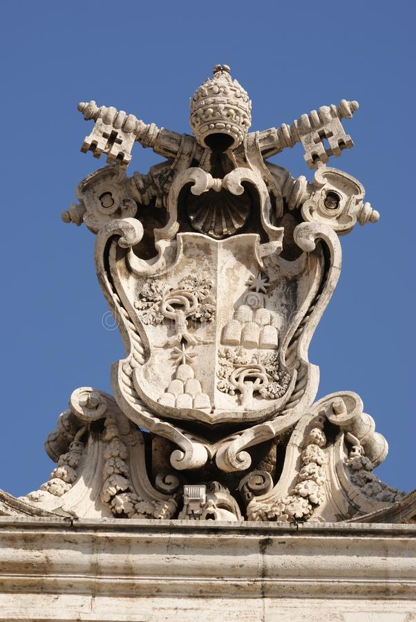 Selo papal fotos de stock royalty free