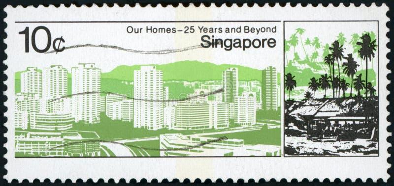 Selo postal imagens de stock