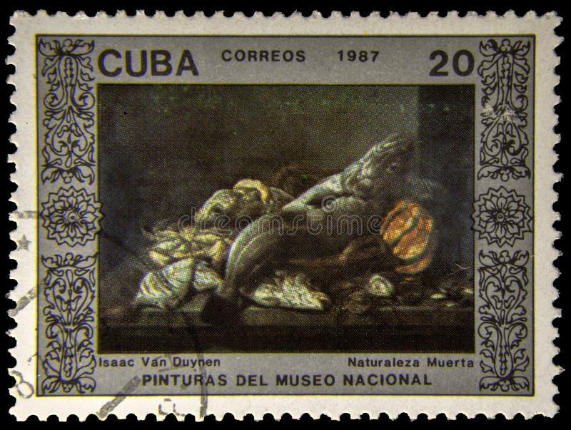 Selo postal da imagem foto de stock