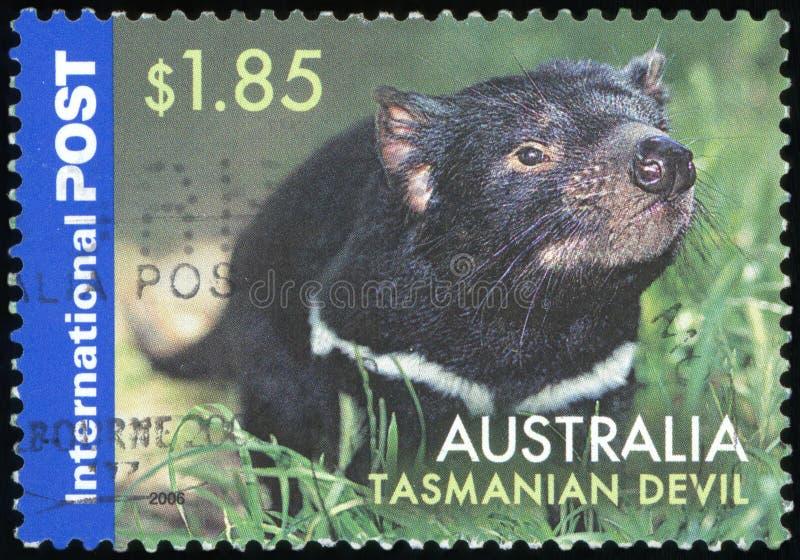 Selo postal de Austrália fotografia de stock