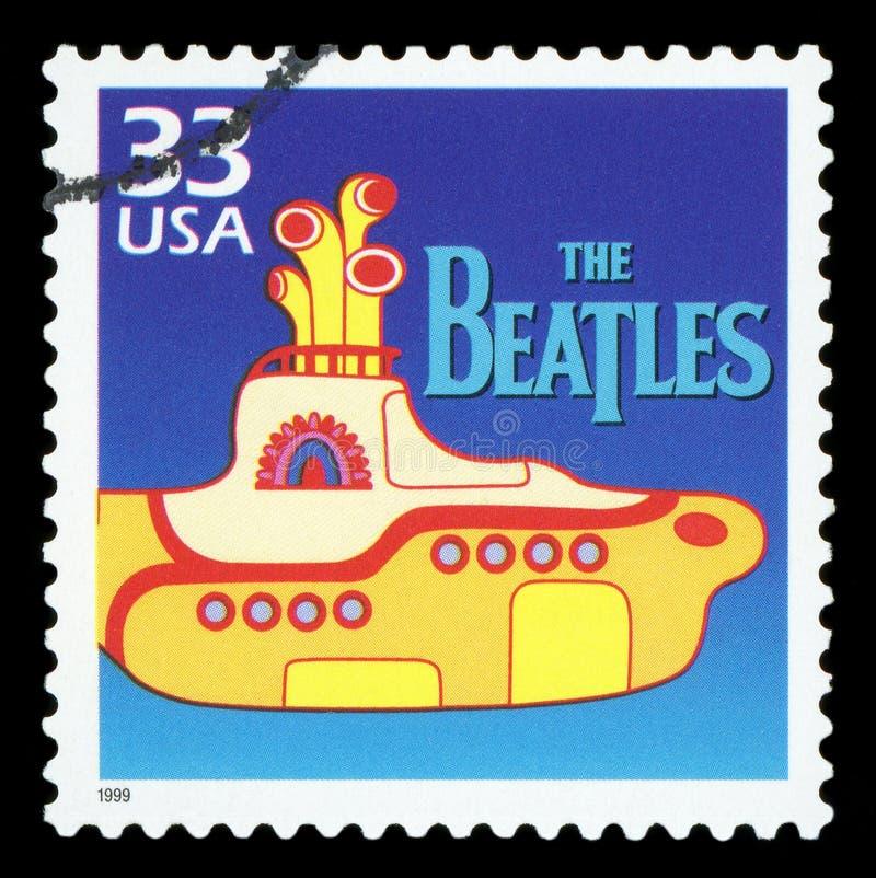 Selo postal dos E.U. fotografia de stock royalty free