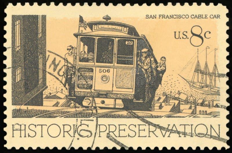 Selo postal dos E.U. imagens de stock royalty free