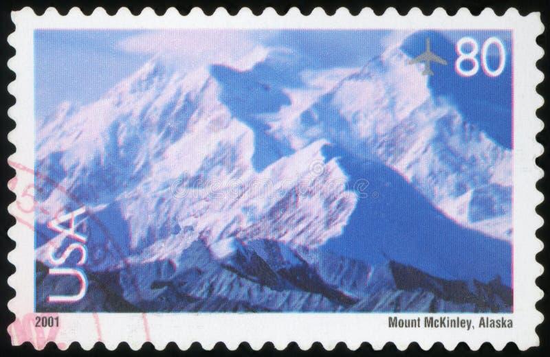 Selo postal dos E.U. imagem de stock royalty free