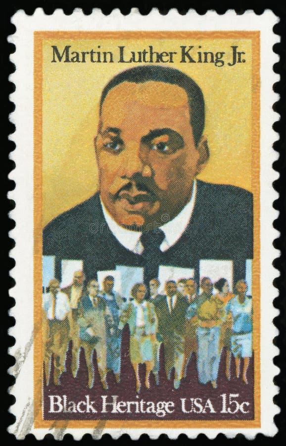 Selo postal - EUA fotografia de stock