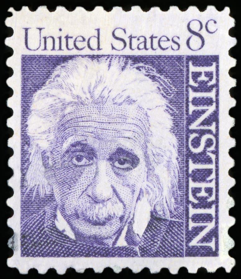 Selo postal - EUA foto de stock