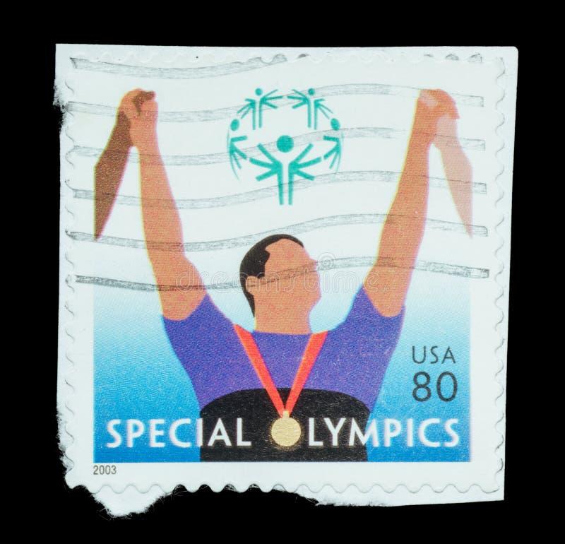 Selo postal isolado imagens de stock royalty free
