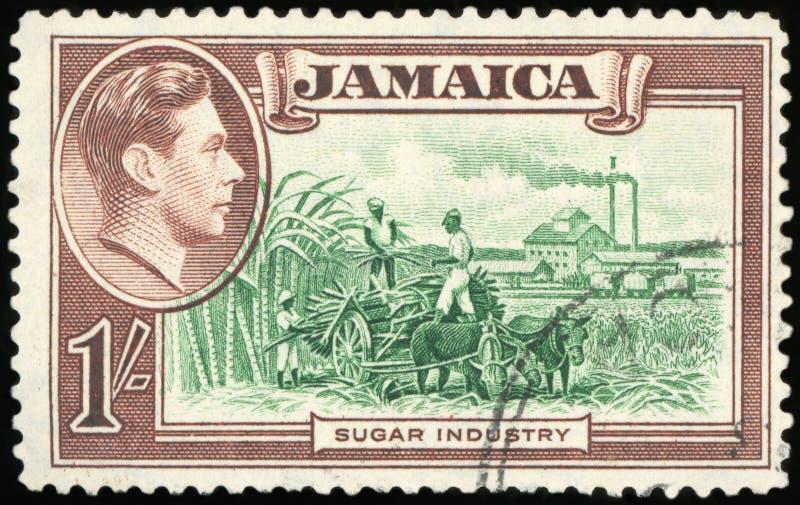 Selo postal - Jamaica fotos de stock