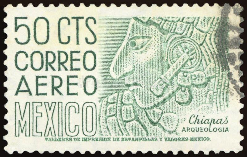 Selo postal - México fotografia de stock royalty free