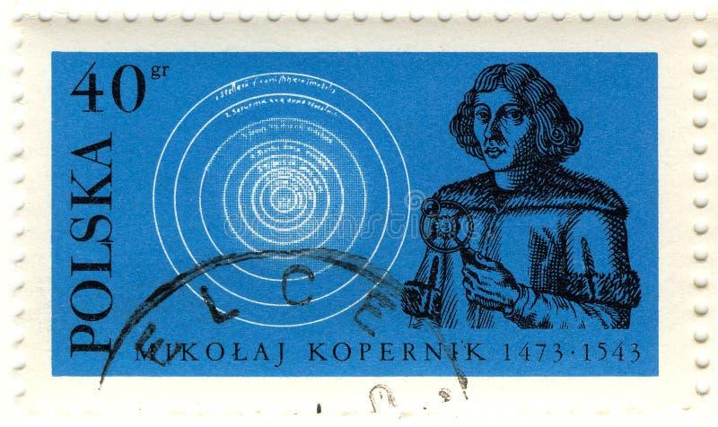 Selo retro de Copernicus fotografia de stock royalty free