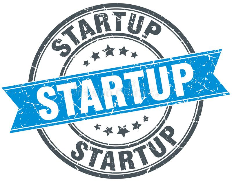 Selo Startup ilustração do vetor