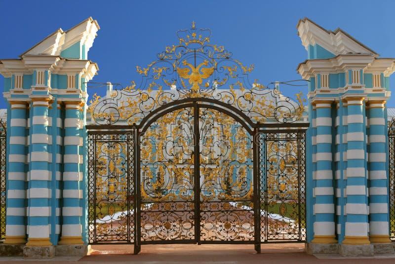 Selo van Tsarskoye, Pushkin royalty-vrije stock fotografie